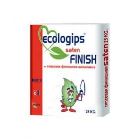 Шпатлевка гипсовая Saten Finish Экологипс 25кг