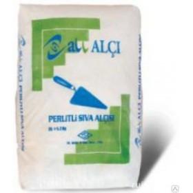 Штукатурка гипсовая с перлитом Алчи-Сива (ALL Alci-Siva) (Турция), 25 кг