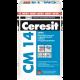 Клей ХЕНКЕЛЬ (HENKEL) ЦЕРЕЗИТ (Cerezit) СМ 14 для плитки для внутренних работ, теплый пол, керамогранит и крупноформат, 25кг