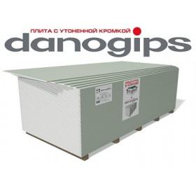Гипсокартон ДАНОГИПС (DANOGIPS) 1200х2500х9,5мм Влагостойкий