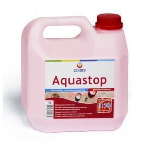 Грунтовка ЭСКАРО (ESKARO) AQUASTOP-PROF (розовый), 3 л