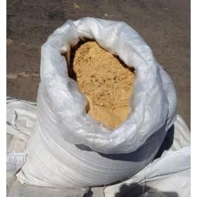 Песок Карьерный просеяный (мешок), 45кг