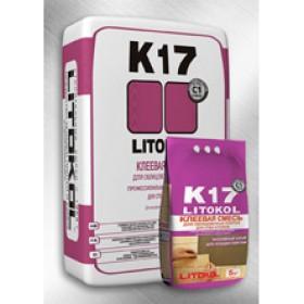 Клей для плитки ЛИТОКОЛ (LITOKOL) К17, 25 кг
