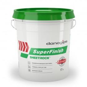 Шпаклека финишная DANOGIPS SuperFinish, 28кг/17л