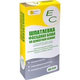 Шпаклевка фасадная белая ЕКАТЕРИНОДАРСКИЕ СМЕСИ (EC), 20кг