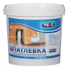 Шпаклевка латексная ТЕКС Профи, 8 кг