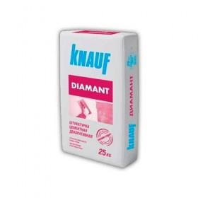 Штукатурка цементная декоративная Короед КНАУФ (KNAUF) КНАУФ-Диамант-1,5, 25 кг